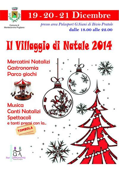 Il Villaggio di Natale 2014