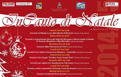InCanto di Natale a Montorio al Vomano