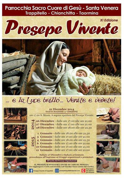 XI Presepe Vivente a Trappitello di Taormina