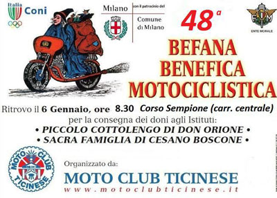 48^ Befana Benefica Motociclistica