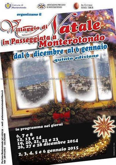 Villaggio di Natale in Passeggiata a Monterotondo