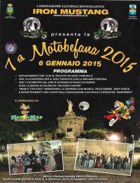 VII Motobefana 2015 a Cisterna di Latina