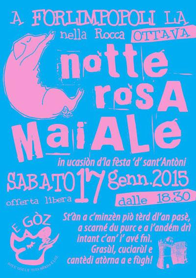 VIII Notte Rosa Maiale