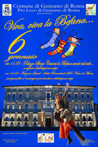 Viva Viva la Befana a Genzano di Roma
