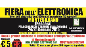 Fiera dell'Elettronica a Montesilvano
