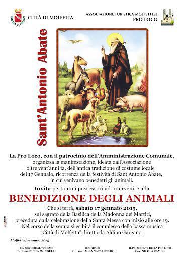 Festa di Sant'Antonio Abate a Molfetta