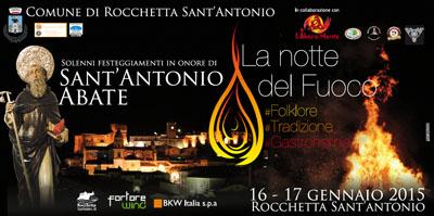 La Notte del Fuoco a Rocchetta Sant'Antonio