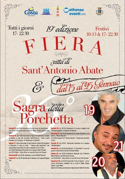 Sagra della Porchetta & Festa di Sant'Antonio Abate
