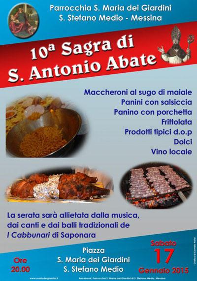 X Sagra di Sant'Antonio Abate
